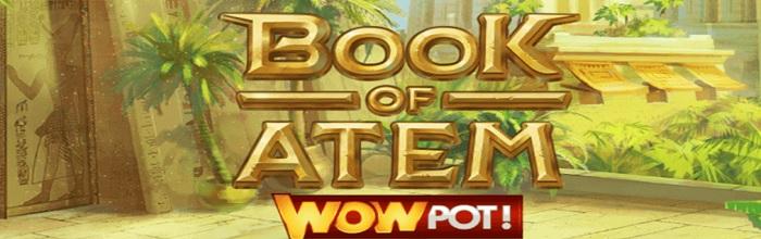 Book of Atem jackpott oktober 2020