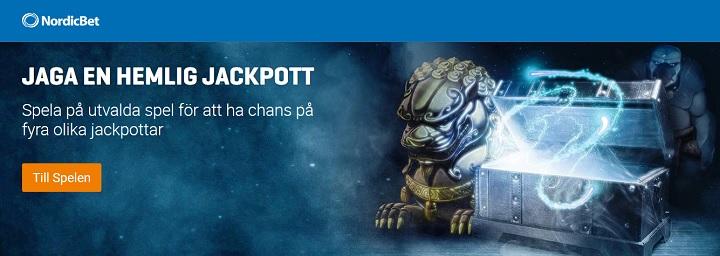 Vinn en hemlig casinojackpott hos NordicBet