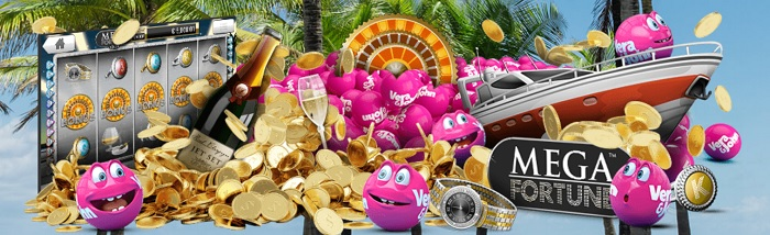 Spelautomater med jackpott hos Vera & John